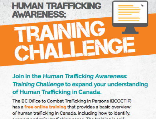 Trafficking Awareness: Training Challenge